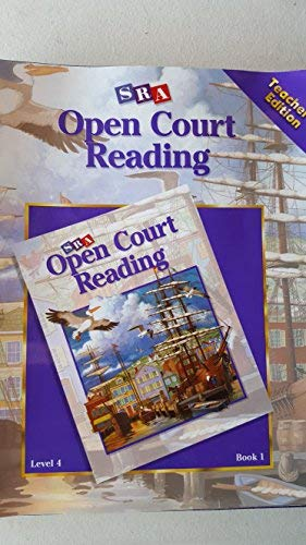 9780028309125: Sra Open Court Reading Level 4 Book 1 Teacher's Edition