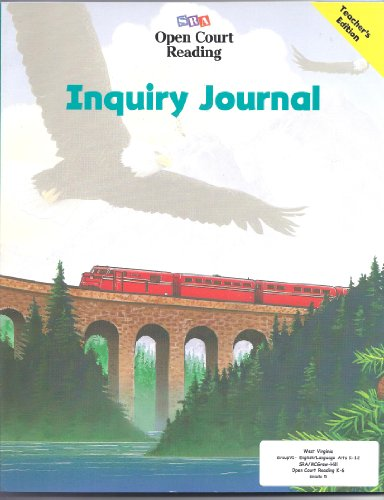 9780028310091: Inquiry Journal (Level 5) (SRA Open Court Reading)