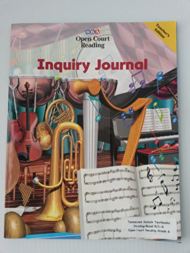 9780028310114: Inquiry Journal (Level 6)