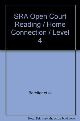 9780028310169: SRA Open Court Reading / Home Connection / Level 4