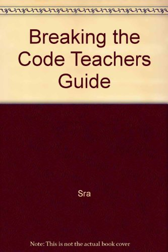 9780028311333: Breaking the Code Teachers Guide