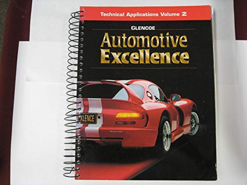 9780028313672: Technical Applications Vol.2 Automotive Excellence