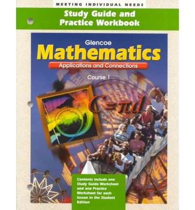 9780028330686: Glencoe Mathematics: Applications and Connections, Course 1 (Assessment and Evaluation Masters)