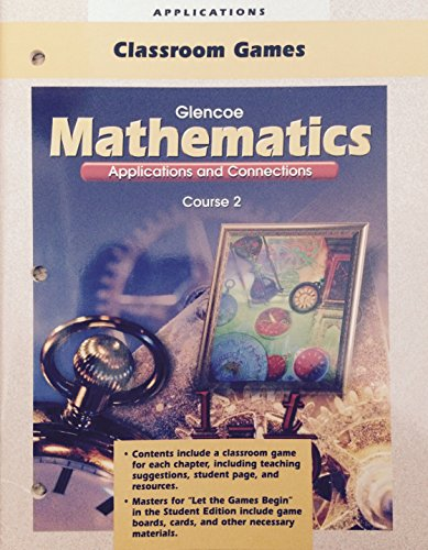 9780028331218: Glencoe Mathematics Applications and Connections Course 2