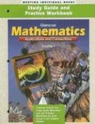 9780028331232: Mathematics: Applications and Connections, Course 1- Study Guide and Practice Workbook