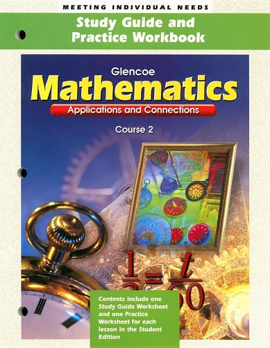 9780028331249: Mathematics: Applications and Connections : Course 2 (Glencoe Mathematics)