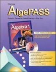 9780028332390: Glencoe AlgePASS CD-ROM for use with Algebra 1