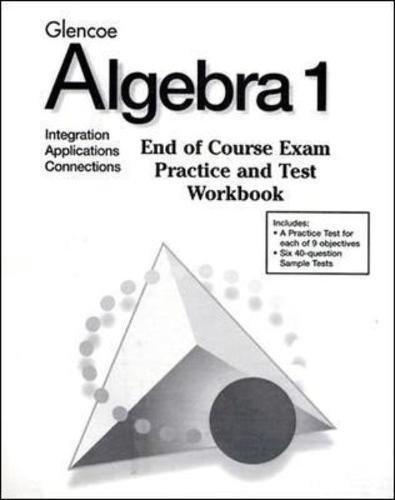 9780028338552: Algebra 1 End-Of-Course Exam P