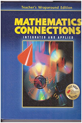 9780028349794: Mathematics Connections - Teacher's Wraparound Edition
