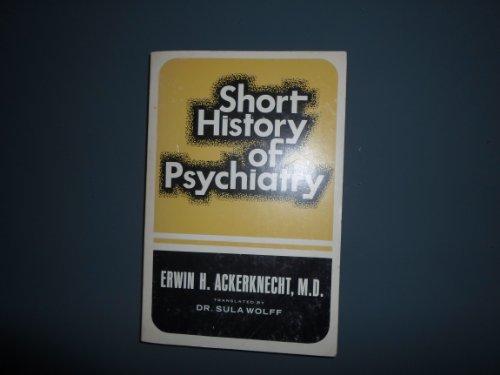 9780028400709: Short History of Psychiatry