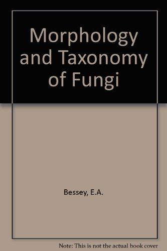 9780028413204: Morphology and Taxonomy of Fungi