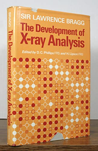 9780028418803: Development of X-Ray Analysis