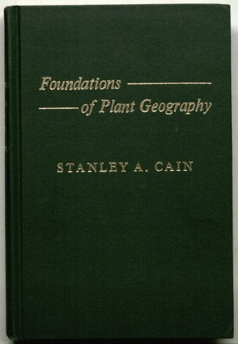 9780028424019: Foundations of Plant Geography