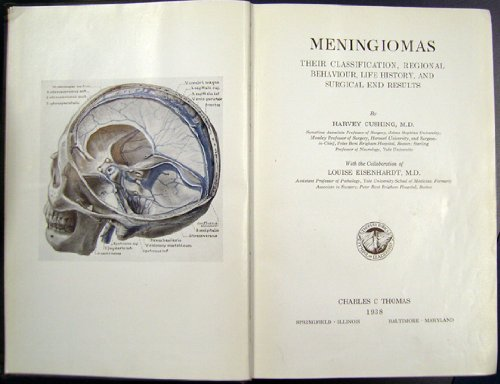 9780028433301: Meningiomas: Their Classification, Regional Behavior, Life History, and Surgical End Results