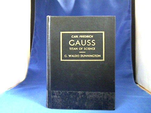 9780028441009: Carl Friedrich Gauss