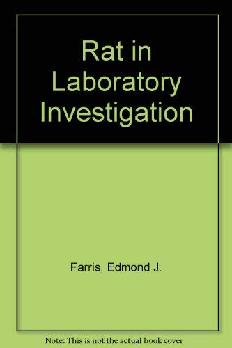 9780028445502: Rat in Laboratory Investigation
