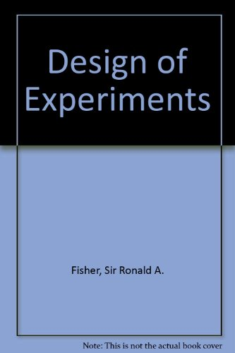 9780028446905: The Design of Experiments