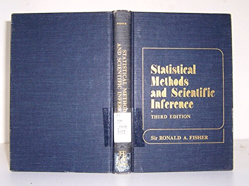 9780028447407: Statistical Methods and Scientific Inference