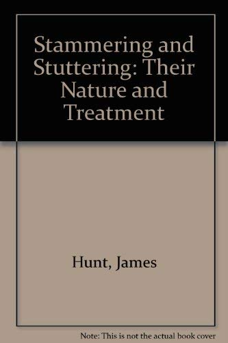 9780028462004: Stammering and Stuttering: Their Nature and Treatment