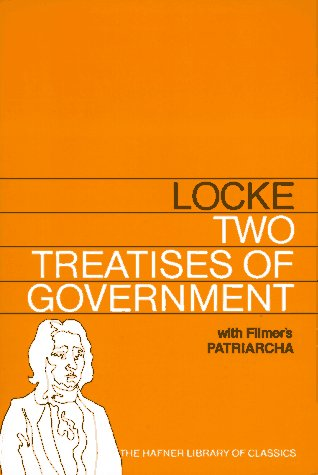 9780028485003: TWO TREATISES OF GOVERNMENT WITH A SUPPLEMENT CONTAINING SIR ROBERT FILMER'S P (Hafner Library of Classics)