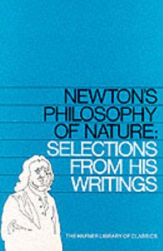9780028497006: Newton's Philosophy of Nature