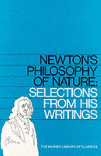 9780028497006: Newton's Philosophy of Nature: Selections of His Writings (Hafner Library of Classics)