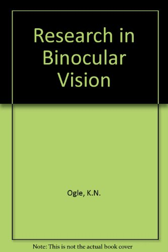 9780028498409: Research in Binocular Vision