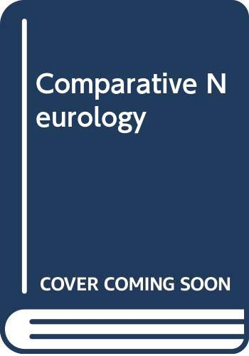 9780028500508: Comparative Neurology