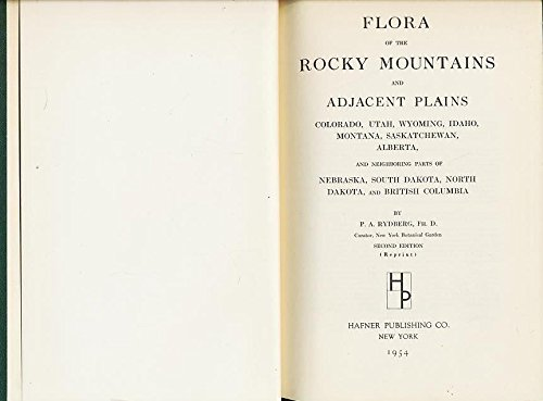 9780028512501: Flora of Rocky Mountains and Adjacent Plains
