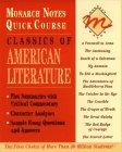 9780028600161: Classics of American Literature (Monarch Notes Quick Course)