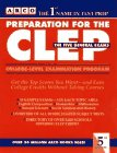 9780028600291: Preparation for the Clep: College-Level Examination Program : The 5 General Examinations (Peterson's Master the CLEP)