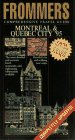 9780028600505: Frommer's City Guides: Montreal and Quebec City: 1995