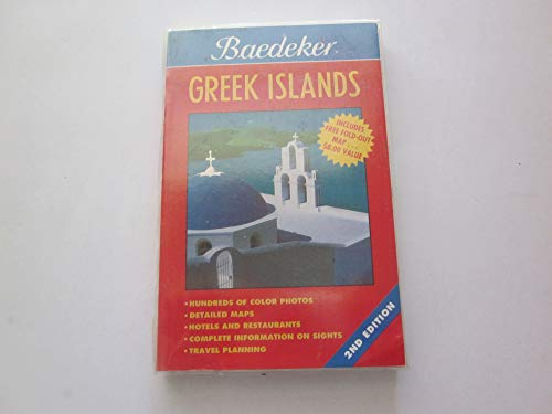 Baedeker Greek Islands: Baedekers, Stuttgart (editor)
