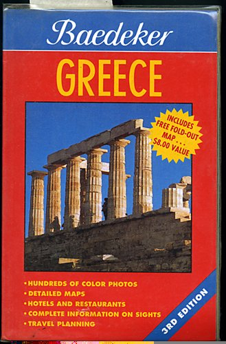 9780028601199: Baedeker Greece (Baedeker's Travel Guides)