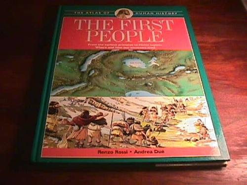 9780028602851: Atlas of Human History the First People