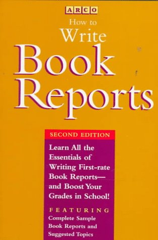 9780028603001: How to Write Book Reports