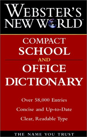 9780028603117: Webster's New World Compact School and Office Dictionary