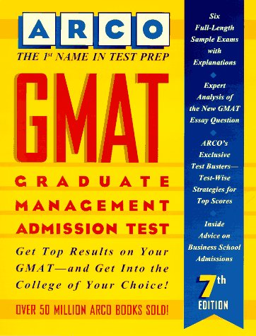 9780028603179: Gmat: Graduate Management Admission Test (7th ed)