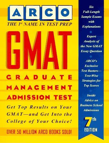 9780028603179: Gmat: Graduate Management Admission Test (7th ed)