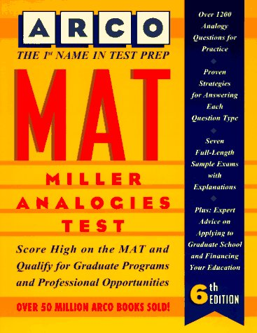 Mat: Miller Analogies Test (Arco Master the Miller Analogies Test) (0028603192) by Eve P. Steinberg; William Bader; Daniel S. Burt