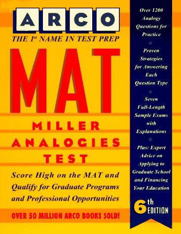 9780028603193: Mat: Miller Analogies Test (Arco Master the Miller Analogies Test)