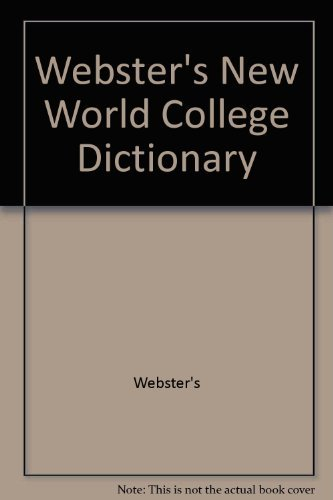 9780028603322: Webster's New World College