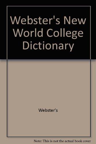 9780028603322: Webster's New World College