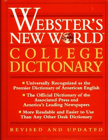 9780028603339: Webster's New World College Dictionary/Thumb Indexed