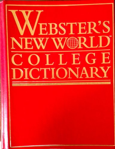 9780028603346: Webster's New World College Dictionary/Leathercraft Thumb Indexed