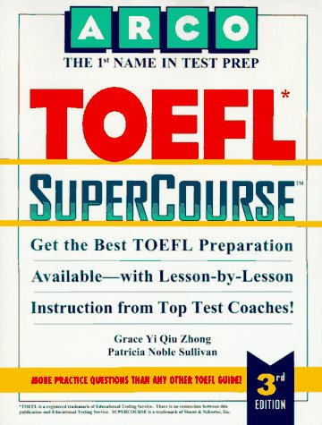 9780028603384: Arco Toefl Supercourse (Supercourse for the Toefl)