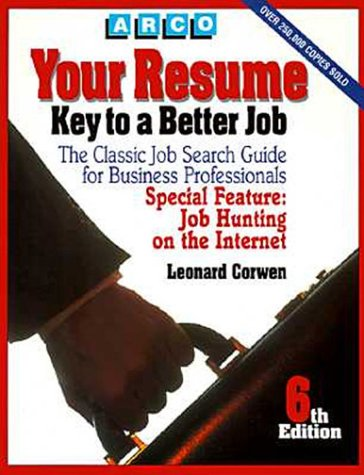 9780028603438: Your Resume: Key to a Better Job