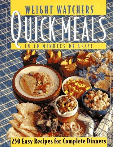 9780028603513: Weight Watchers Quick Meals