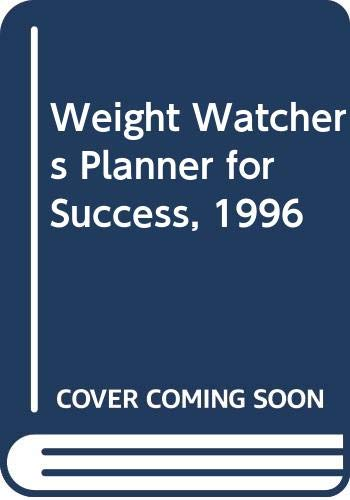9780028603520: Weight Watchers Planner for Success, 1996