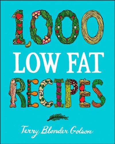 9780028603544: 1,000 Low Fat Recipes